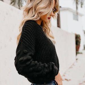 Full of Cheer Bobble Sweater